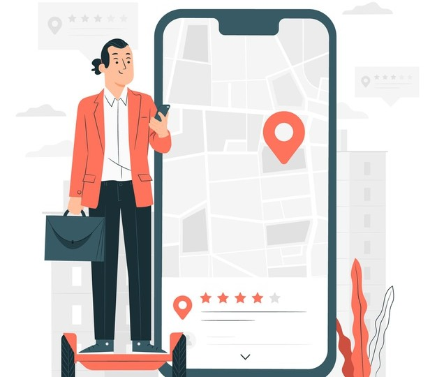 SMS Location-Based-Service (LBS)